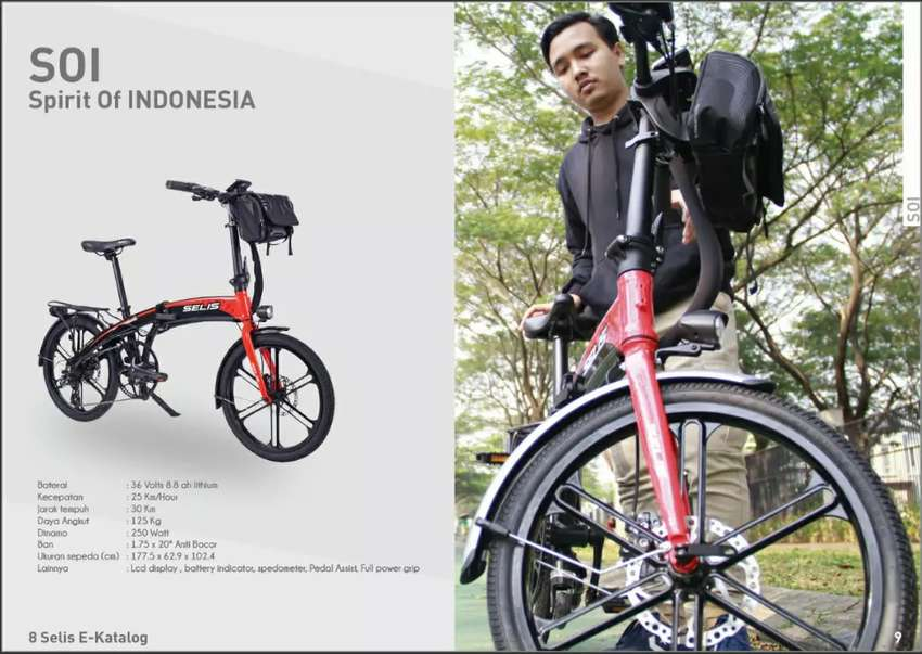 Electric folding bike (sepeda lipat listrik SELIS) 0