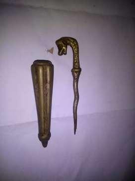 Tongkat mini naga  Antik