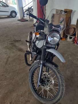 RE Himalayan 2017 December BS4 model white colour
