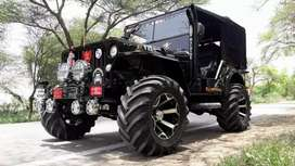 Jeep open modified