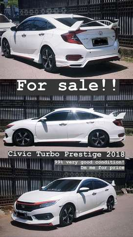 Honda civic turbo prestige sedan