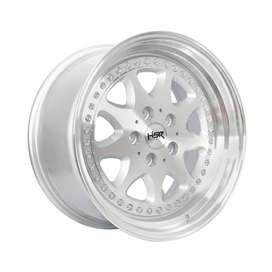 Velg mobil racing BAVARIA R17x75/85 h5x112 silver polish