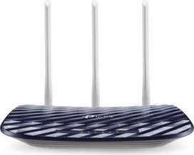 Almost New TP-Link Archer C20 AC Wireless Dual Band 750 Mbps Router