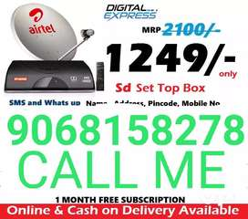 Lifetime warranty free all dishtv connection Book New connection all