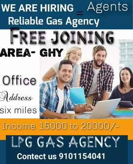 Agent REQUIRED for LPG COMPANY