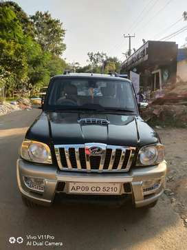 Mahindra Scorpio VLX 2WD BS-III, 2011, Diesel