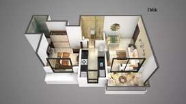 1 bhk available in kalyan east