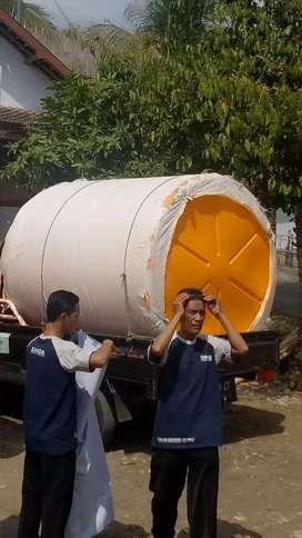Tandon air 3000 liter Toren Sukoharjo bahan plastik