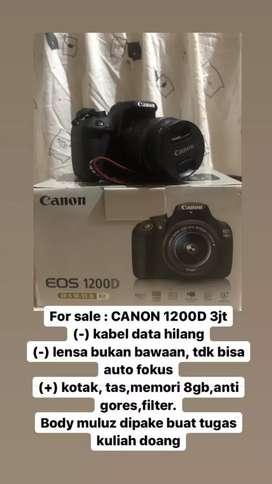 CANON EOS 1200D Mulus