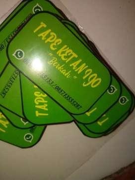Stiker label murah meriah