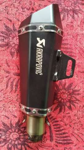 Akrapovic exhust for sale..few days old