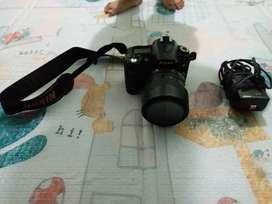 Kamera D90 lensa VR 18 105