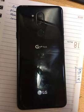 Lg g7plus thinq 6gb ram and 128gb like new