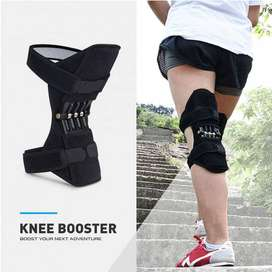 KNEEPAD - Spring Loaded POWER LEG Knee Joint Support Pads
