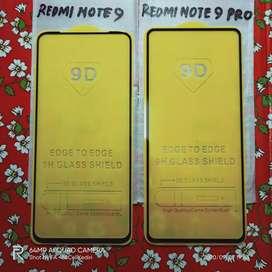 Tempered Glass Full Coverage Xiaomi Redmi Note 9 Pro