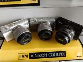 Camera Canon EOSM100