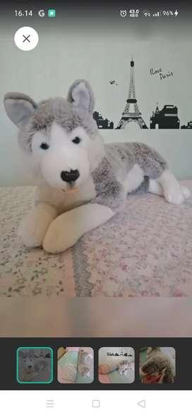 Boneka Anjing Siberian Husky