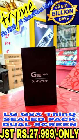 TRYME SEALED Pack LG G8X THINQ 1Year Indian Warranty