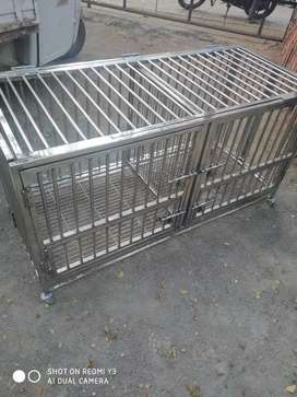 Folding cage stainless steel