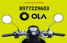 work any time join ola uber bike rider free attachment daily payment