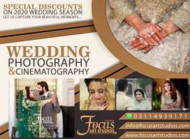 Professional wedding photography and cinematography services in Lahore