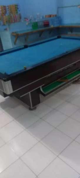 Meja billiard lengkap