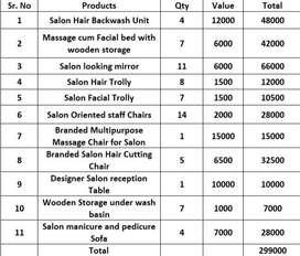 Best Quality Salon Items for URGENT SALE