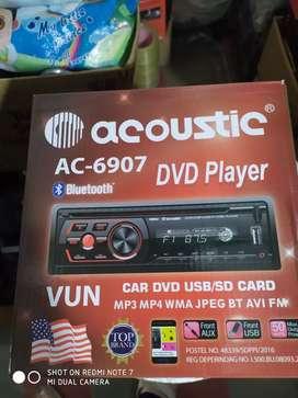 Tape single dvd usb bluetooth siap pasang ( Megah top )