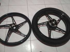 Velg motor original jupiter mx