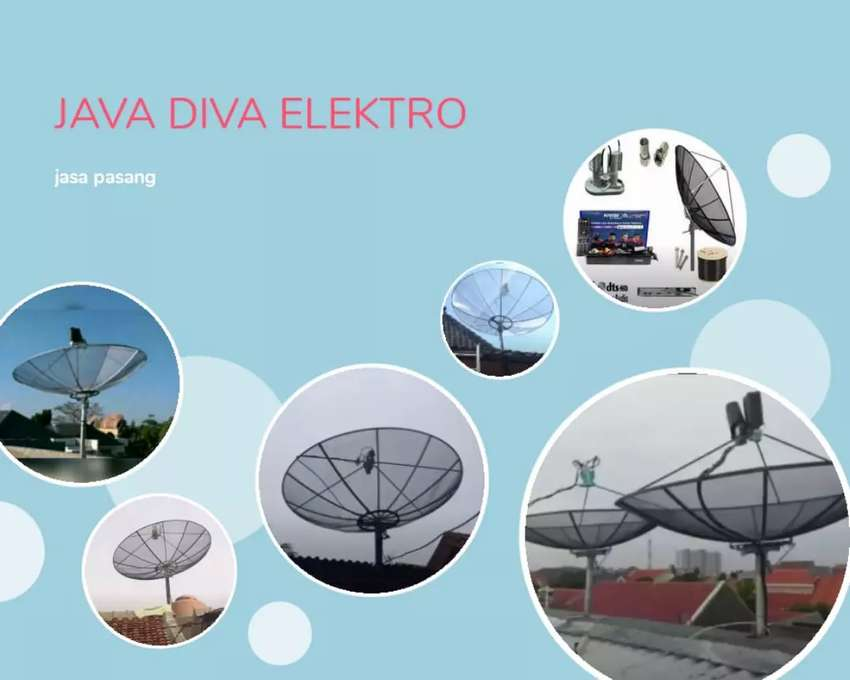 Intelasi pasang antena tv & parabola mini 0