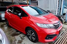 Km 5rb Jazz RS CVT 2019 Merah Like New bs tt yaris matic 2020 AT 2021
