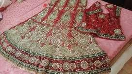 Wedding Lehnga...Maroon color