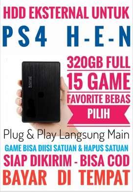 HDD 320GB Mantap Murah FULL 15 Game Terkini PS4 Bebas Pilih