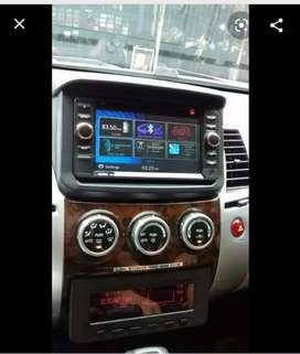 Doubel din clarion + frame pajero 2010 - 2014