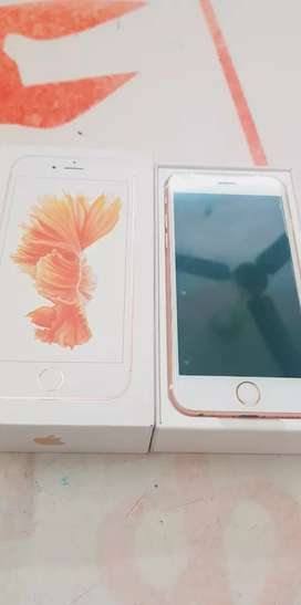 We are selling iPhone 6s 64gb with bill box and all accessories good