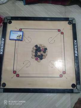 Big size Carrom only 1month used fix price Rs.750/