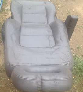 Pajero leather seats original complete 6 in a set