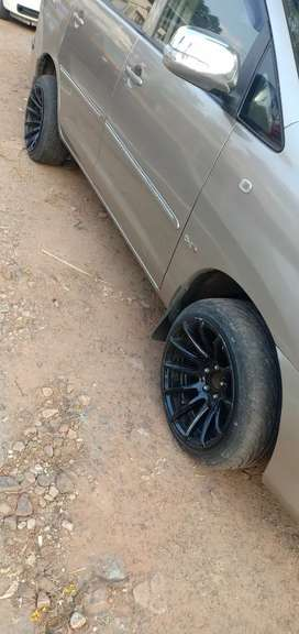 """17""""tyre and alloys urgent sale"""