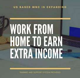 Opportunity for All Backgrounds Work From Home According to your Skill
