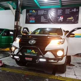 tanduk depan RHINO BIG all new FORTUNER ( kikim variasi paris )