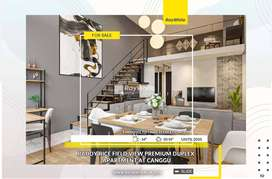 Paddy Rice Field View Premium Duplex Apartment at Canggu