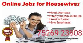 Just work in your spare time from home and then earn weekly.