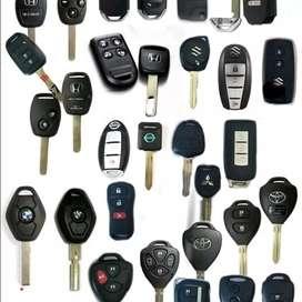 Cesing. Remot. Kunci mobil & motor