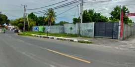 Tanah di pinggir jalan raya Energi Gatep Ampenan