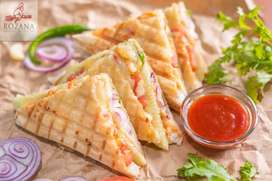 Need Cook/assistant cook for indian snacks,chaats, samosa items