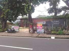 Tanah Komersial di jalan utama Raya Pajajaran Bogor