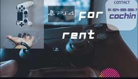 Play station -4 for RENT