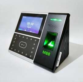 Mesin Absensi Sidik Jari Dan Wajah MBB Fiface Finger Print Touchscreen