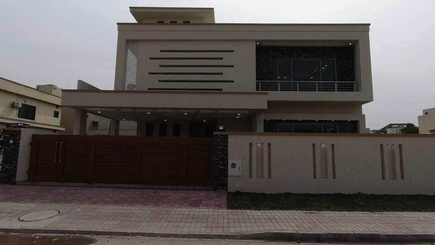 1 Kanal semi furnished brand new house is available for sale in bahria