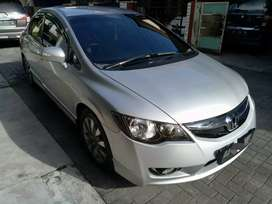 Honda civic Fd 1.8 AT 2010 silver pajak baru bln 3